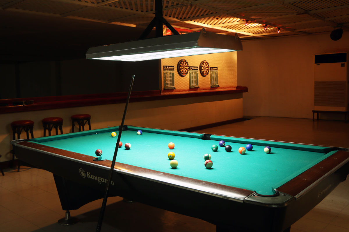 Billiard Table - First pool table